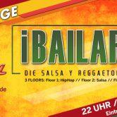 ¡A BAILARR! – Die Salsa y Reggaeton Party (18+)